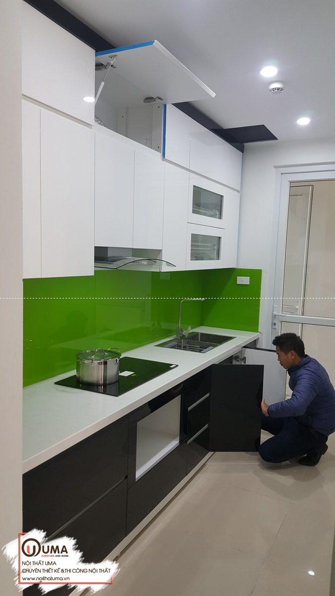 tủ bếp tại chung cư 187 Tây Sơn