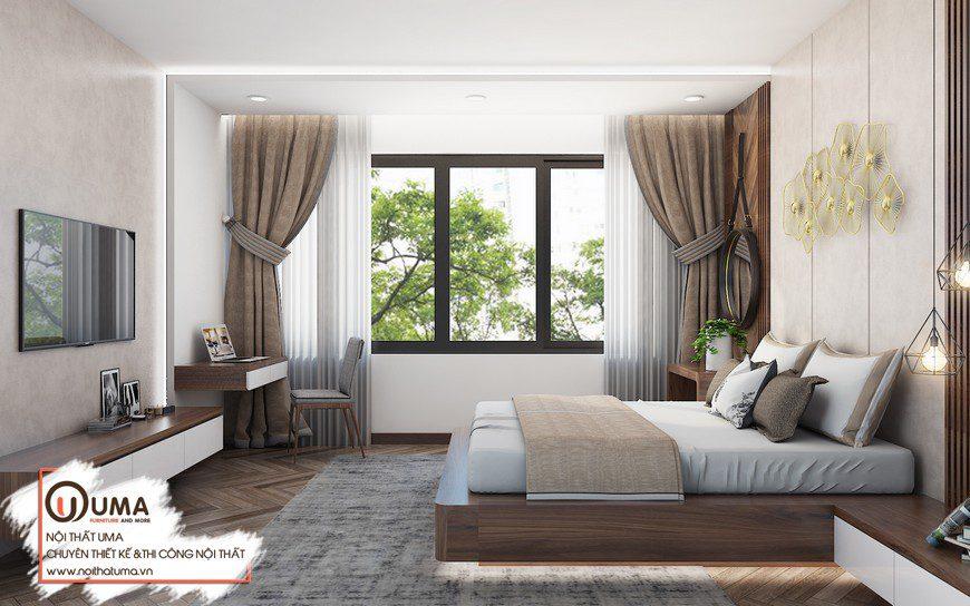 Thiết kế nội thất anh Khang tại Vinhome Smart City