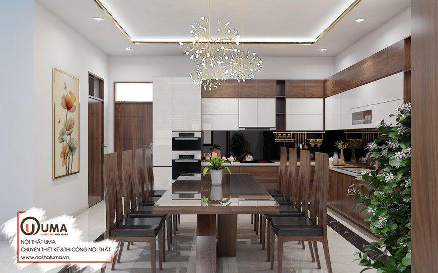 Thiết kế nội thất tại Vinhome Smart City Căn hộ anh Khang, Thiết kế nội thất tại Vinhome Smart City, Gỗ óc chó, Nattifi, Phong cách hiện đại, sofa gỗ, Thiết Kế Nội thất Chung cư