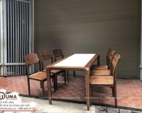 Bàn ghế ăn - UBG 07