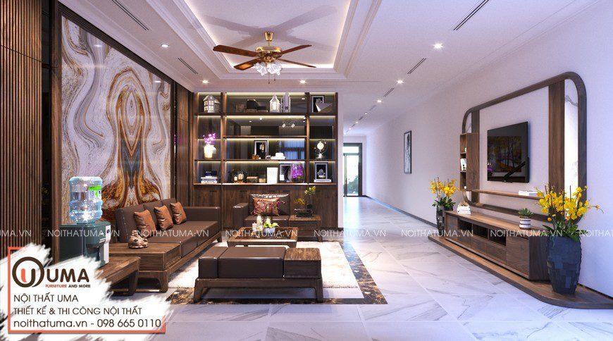 Thiết kế nội thất biệt thự tại Vĩnh Yên, Vĩnh Phúc.