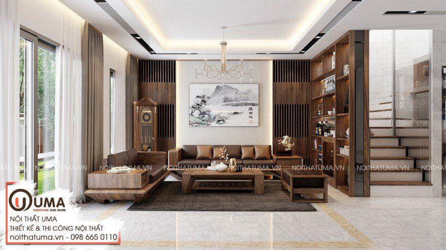 Thiết kế nội thất biệt thự tại Hòa Bình