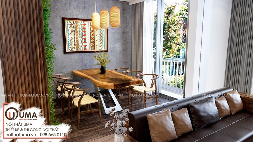 Thiết kế nội thất Liền kề Gamuda Garden