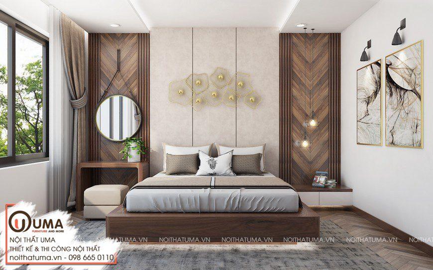 Thiết kế nội thất hiện đại nhà anh Trường tại Cầu giấy, Hà Nội