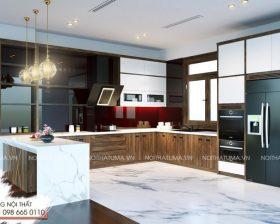 Tủ bếp Nattifi – UNA 06