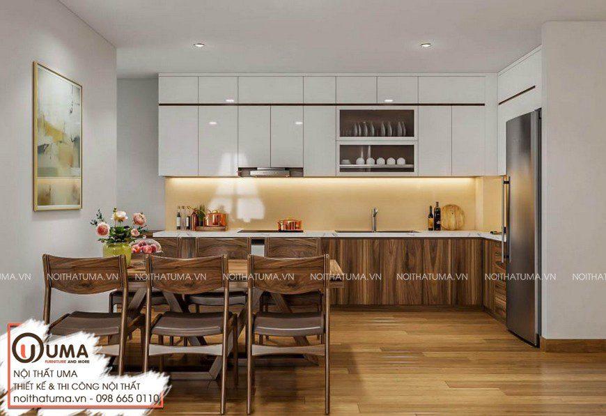 Tủ bếp Nattifi – UNA 05