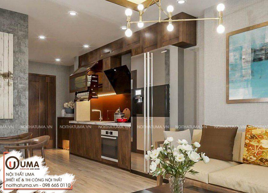 Tủ bếp Nattifi – UNA 03