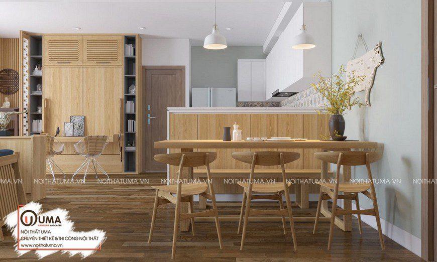 Thiết kế nội thất căn hộ Thanh Xuân Complex-anh Minh, Thiết kế nội thất căn hộ Thanh Xuân Complex, Phong cách hiện đại, Thiết Kế Nội thất Chung cư