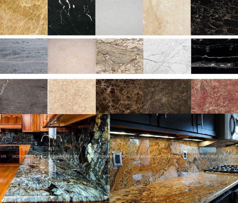 các loại mặt đá bếp tại Uma