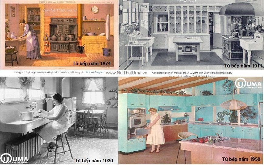 Lịch sử hình thành Tủ bếp