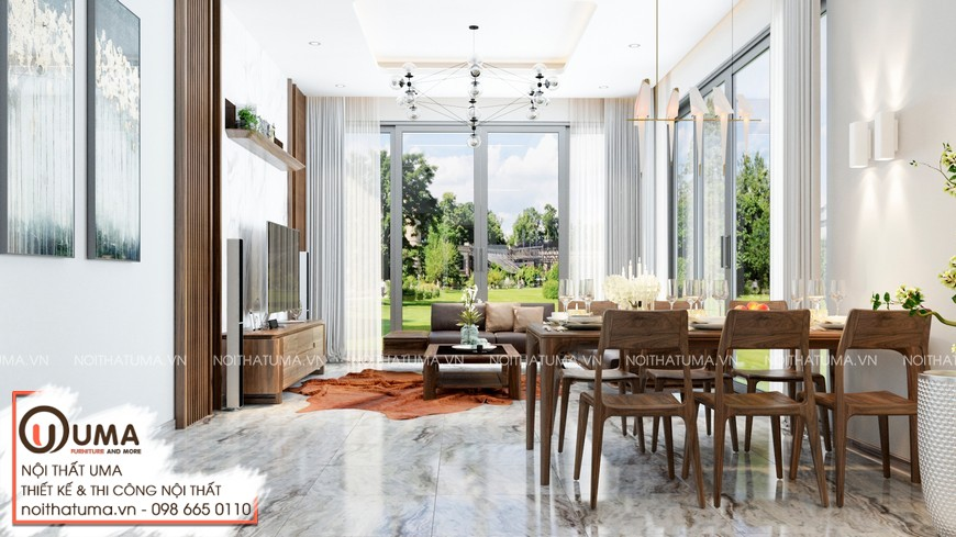 Thiết kế nội thất nhà mặt phố anh Trường - Nam Từ Liêm