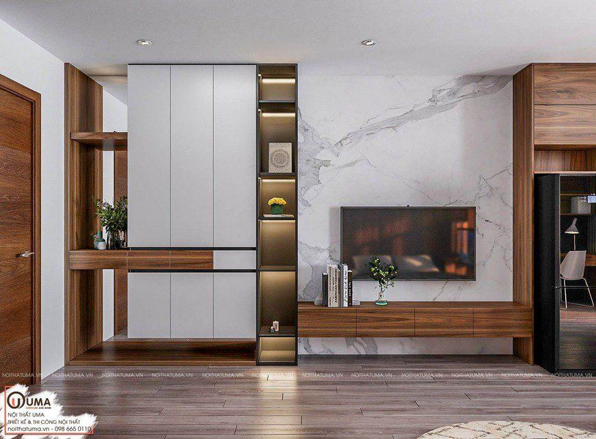 Thiết kế nội thất chung cư DCaptital