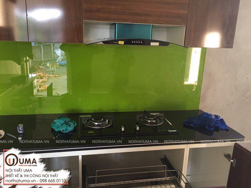 Làm Tủ bếp Melamin An Cường Chị Huyền Hải Dương