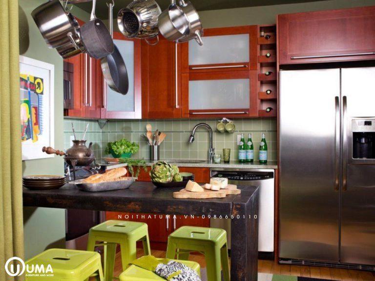 Những yếu tố giúp gia chủ mệnh Kim hợp phong thủy phòng bếp