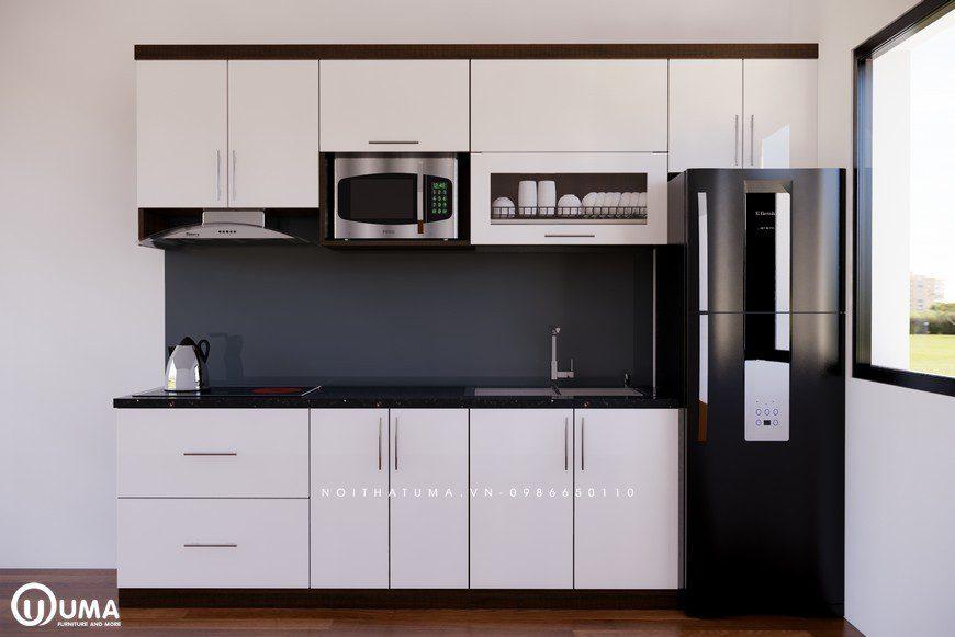 Tủ bếp Melamine - UML 02, , ,