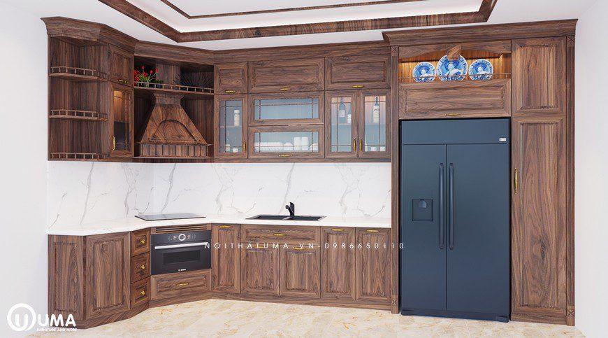 Tủ bếp Tân, Cổ điển