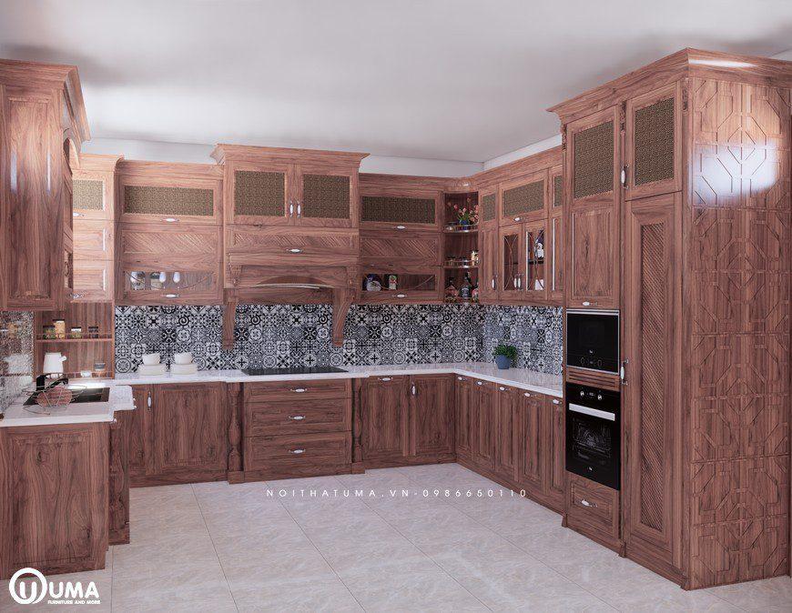 Tuổi Dậu chọn tủ bếp gì
