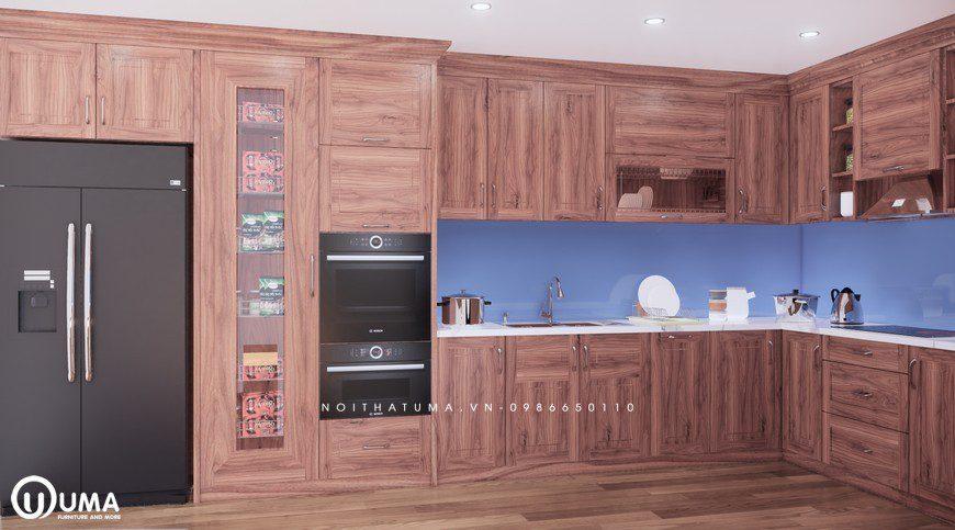 Mẫu tủ bếp cho tuổi Giáp Tý sinh năm 1984