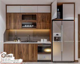 Tủ bếp Nattifi – UNA 09