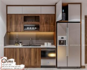 Tủ bếp Acrylic – UAC 06