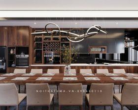 Tủ bếp Nattifi – UNA 13