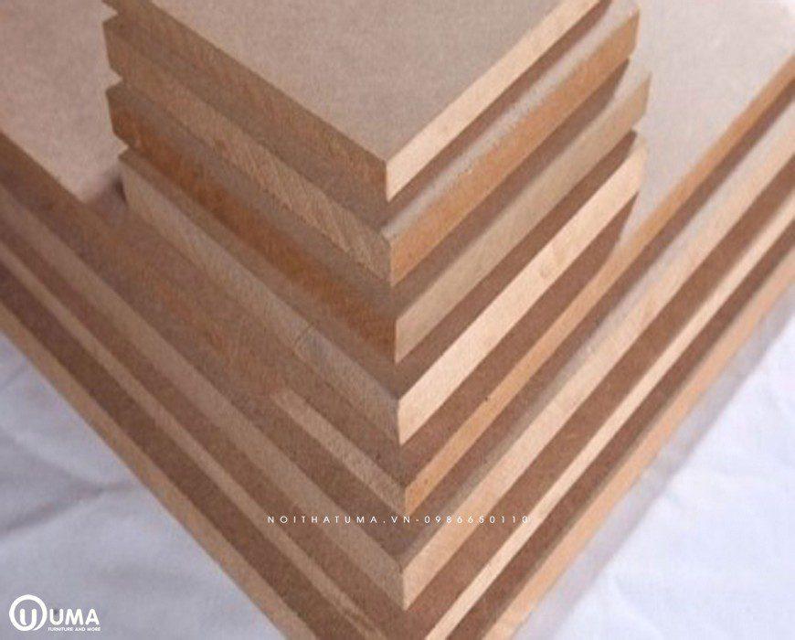 Ván gỗ MDF được sản xuất trên một quy trình khép kín hiện đại