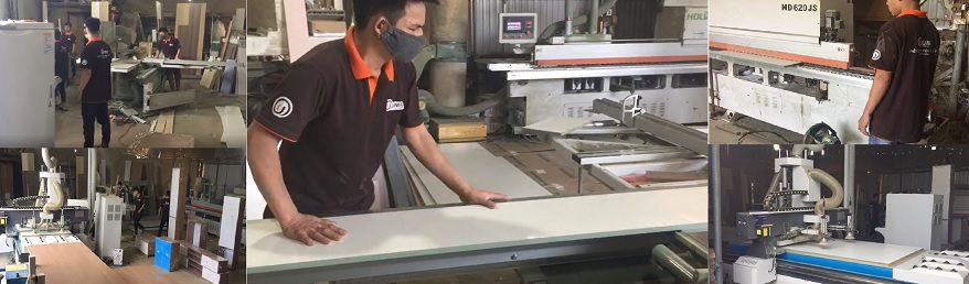 Xưởng sản xuất gỗ công nghiệp Nội Thất UMA