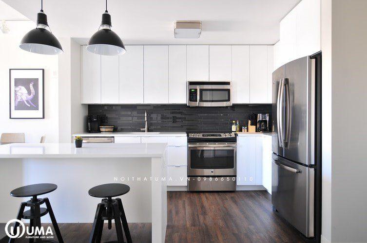 Top 10 mẫu tủ bếp acrylic đẹp mà bạn bên có trong căn bếp nhà mình