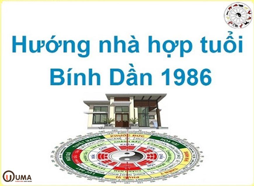 Hướng nhà, hướng cửa cho người sinh năm 1986