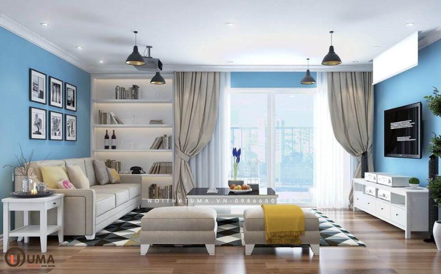 Thiết kế nội thất nhà ở hợp mệnh cho gia chủ sinh năm 2012