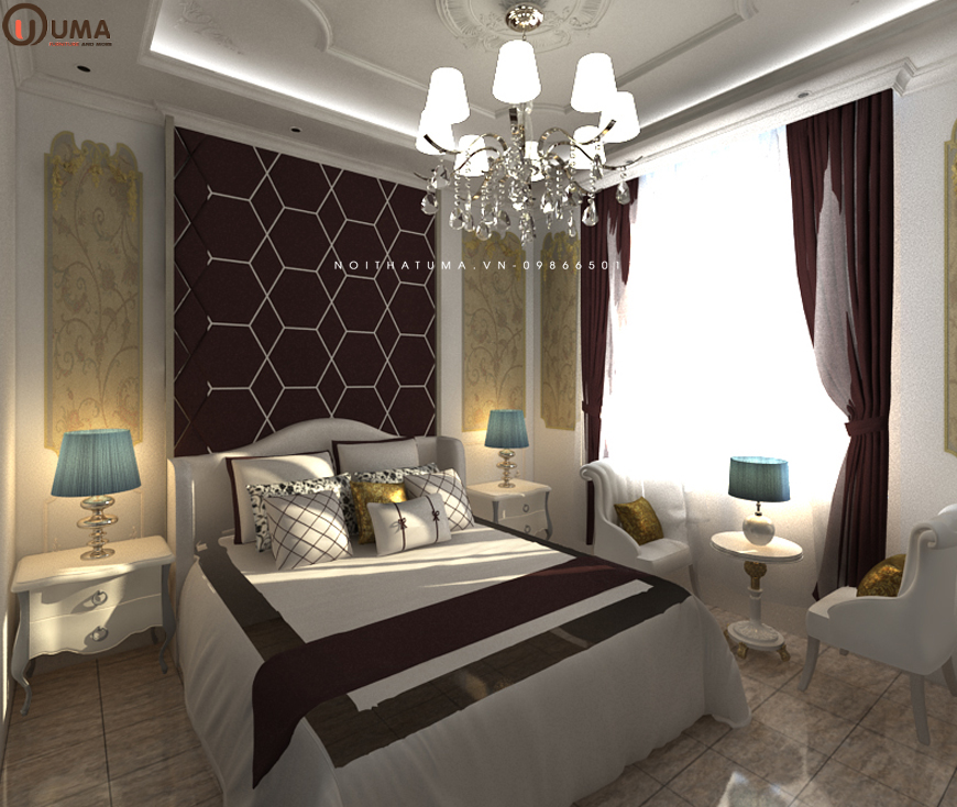Mẫu 3 - Phòng ngủ cho người sinh năm 1961