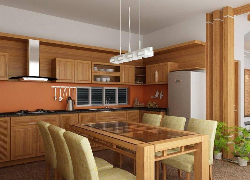 Mẫu 1 – Thiết kế nội thất phòng bếp cho người sinh năm 1960