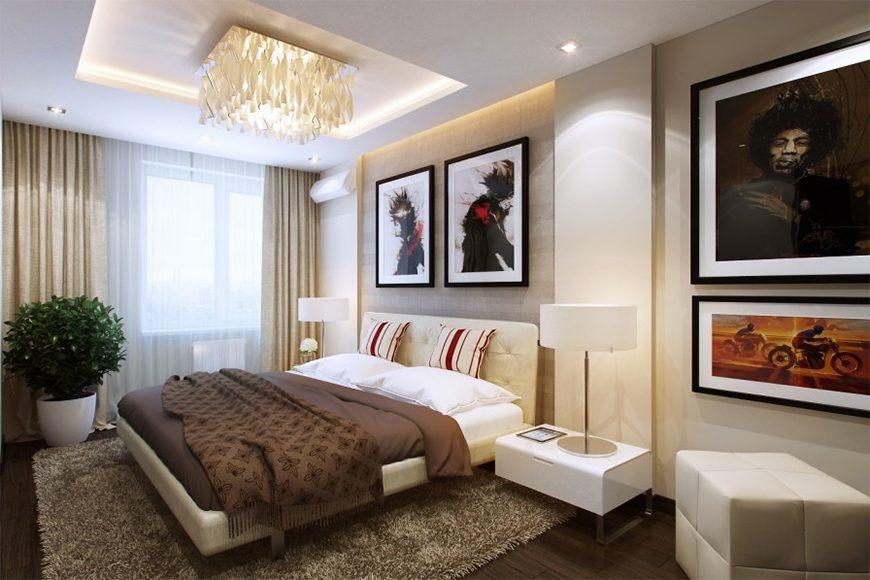 Mẫu 3 – Thiết kế nội thất phòng ngủ cho người sinh năm 1960