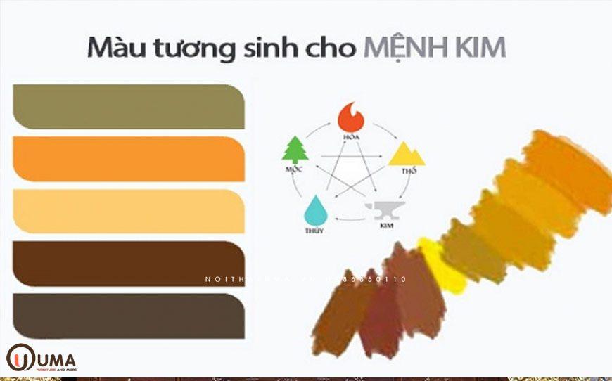 Màu sắc hợp mệnh cho người sinh năm 2001