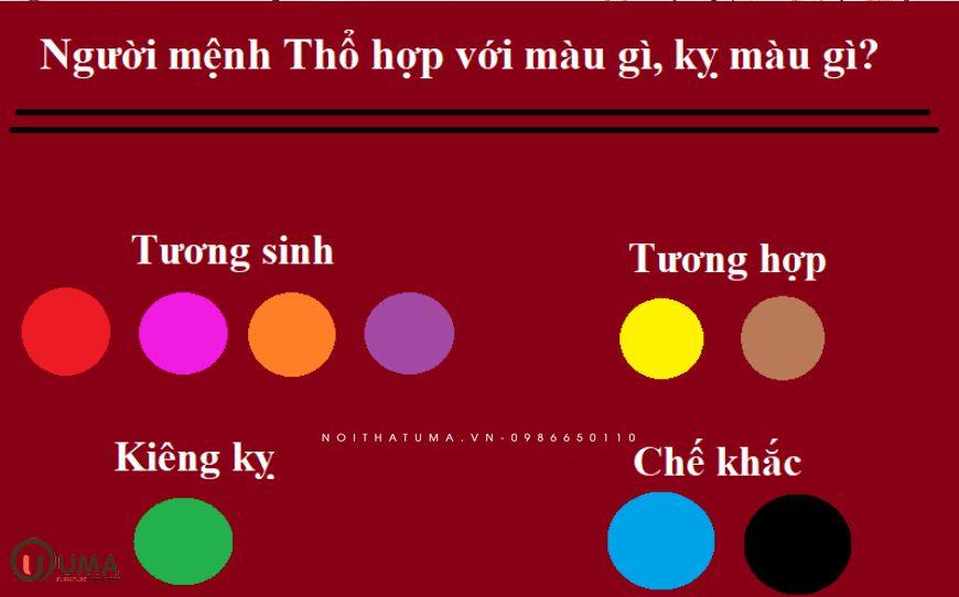 Màu sắc hợp mệnh cho người sinh năm 2007