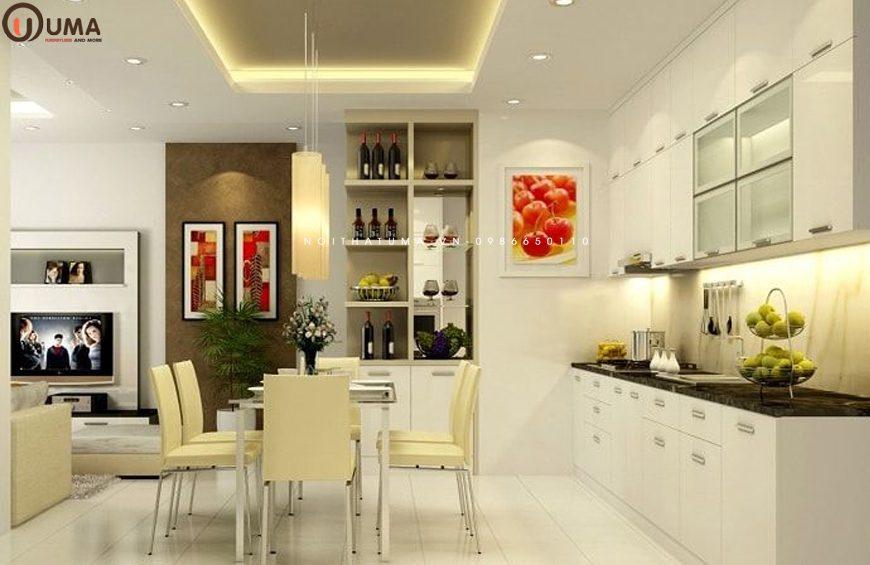 Mẫu 2 - Thiết kế nội thất phòng bếp cho gia chủ 1962