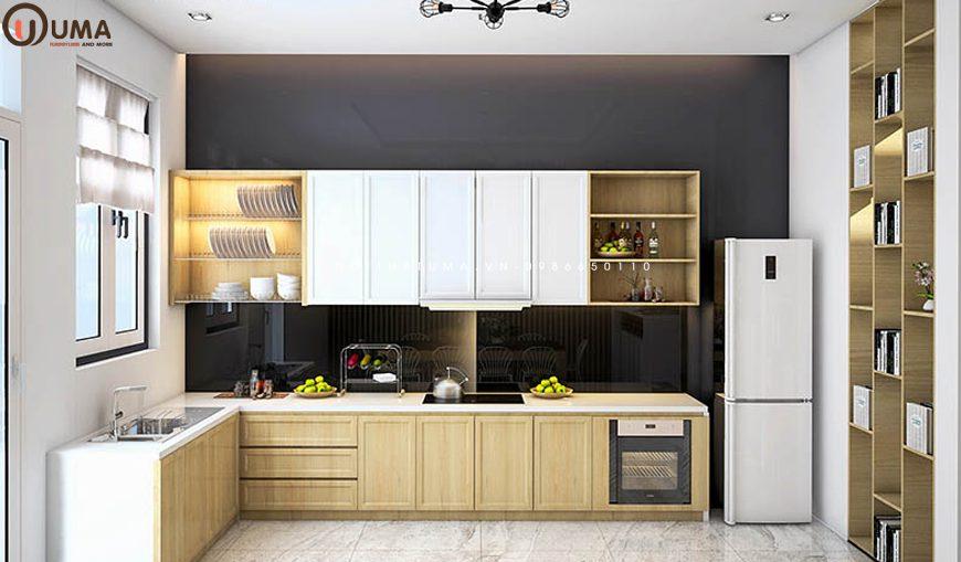 Mẫu 3 - Thiết kế nội thất phòng bếp cho gia chủ 1962
