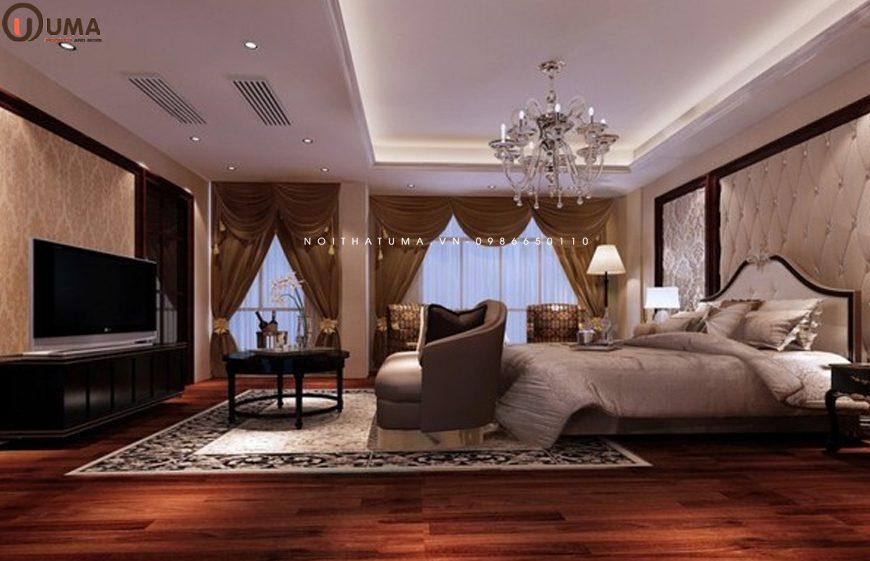 Mẫu thiết kế nội thất phòng ngủ cho gia chủ 1962