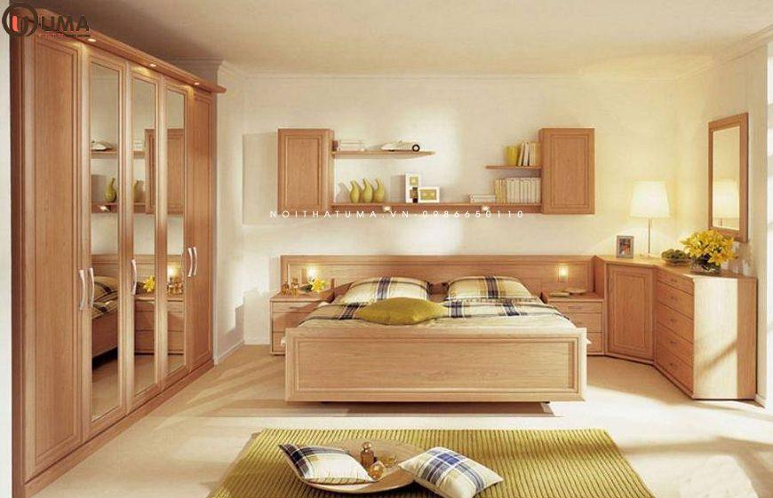 Mẫu 3 - Thiết kế nội thất phòng ngủ cho gia chủ 1962