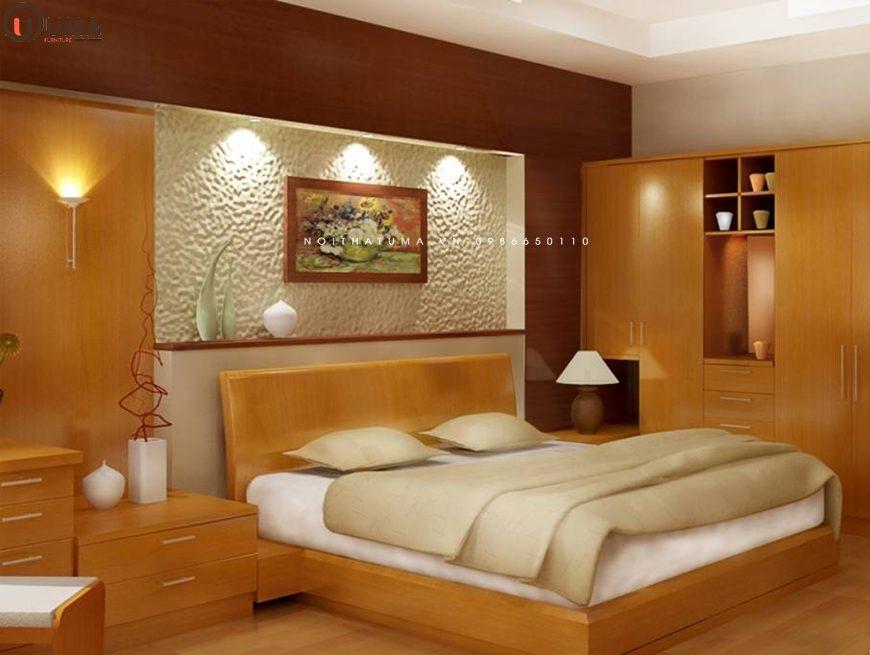 Mẫu 4 - Thiết kế nội thất phòng ngủ cho gia chủ 1962