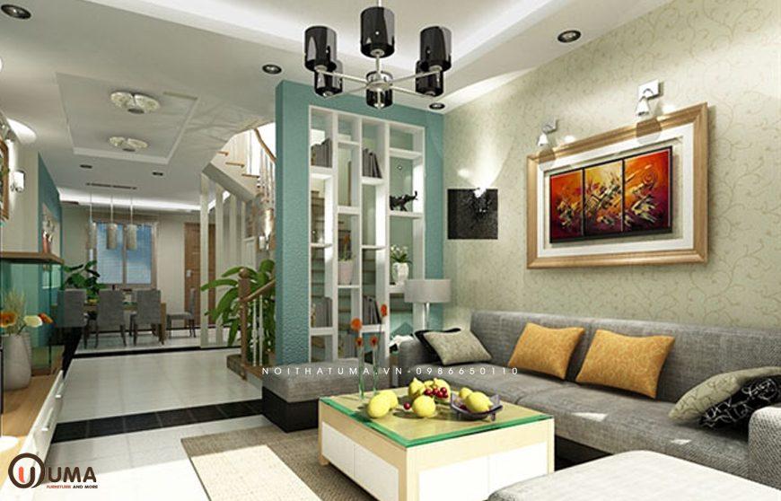 Mẫu 3 - Thiết kế phòng khách hợp mệnh cho người sinh năm 1965