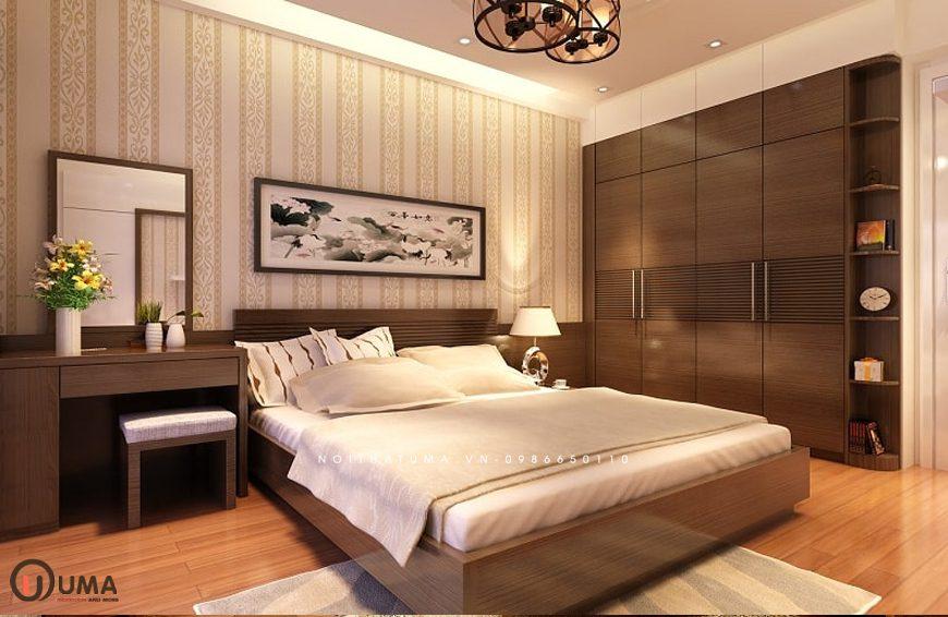 MẫU 2 - Thiết kế phòng ngủ hợp mệnh cho người sinh năm 1970