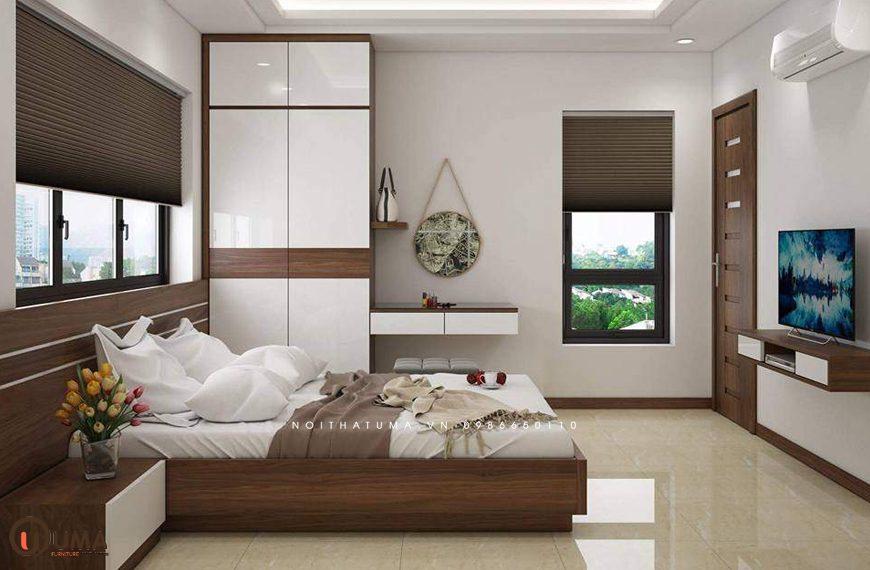 Mẫu 2 - Thiết kế phòng ngủ hợp mệnh cho người sinh năm 1965