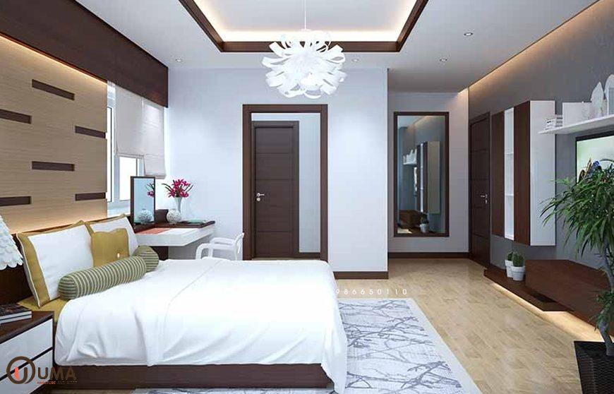 Mẫu 3 - Thiết kế phòng ngủ hợp mệnh cho người sinh năm 1965