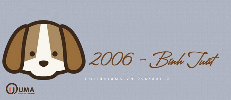 Năm 2006 tuổi con gì?