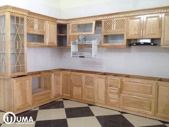 thiết kế nhà bếp nông thôn
