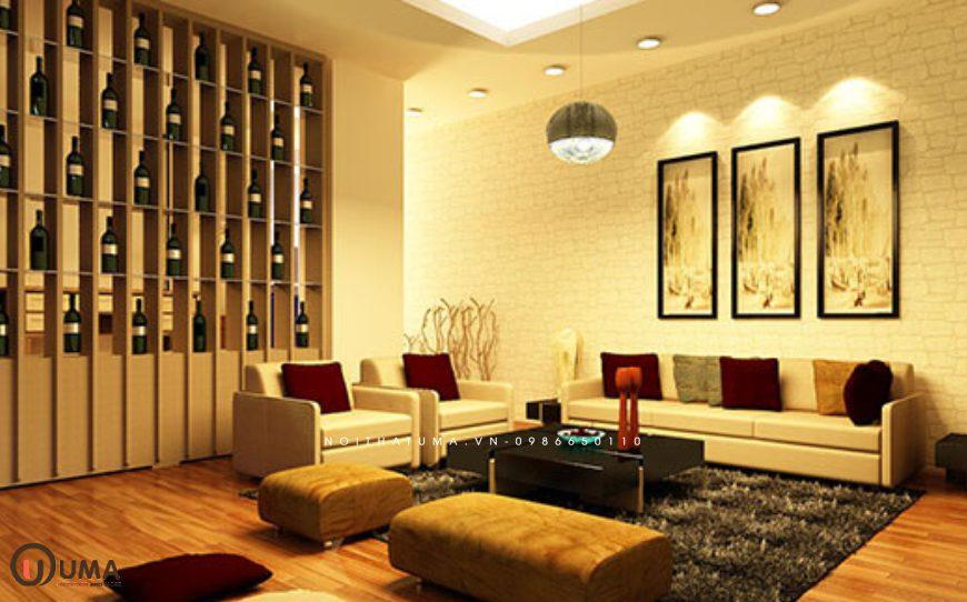 Thiết kế nội thất nhà ở hợp mệnh cho gia chủ sinh năm 2015