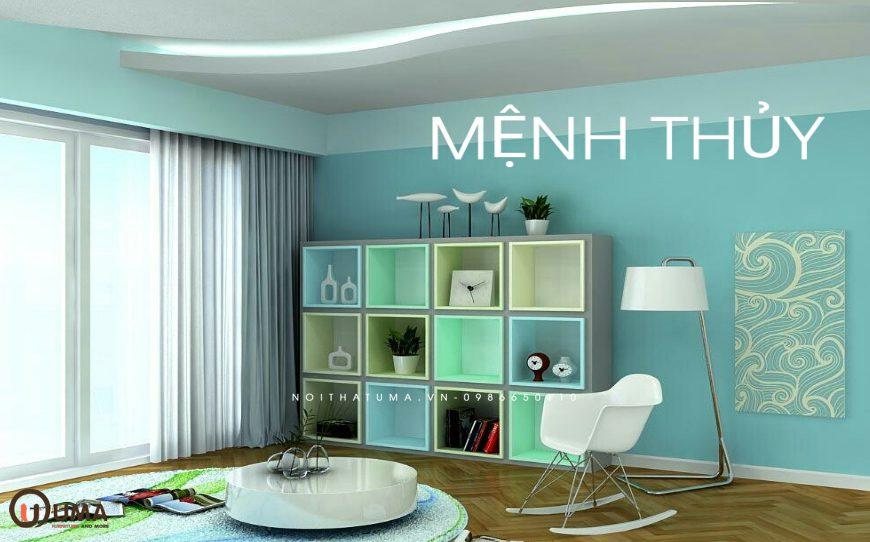 Thiết kế nội thất nhà ở hợp mệnh cho gia chủ sinh năm 2013