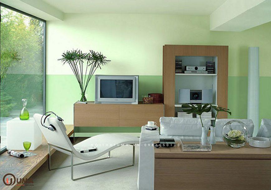 Mẫu 1 - Thiết kế phòng khách hợp mệnh cho người sinh năm 1987