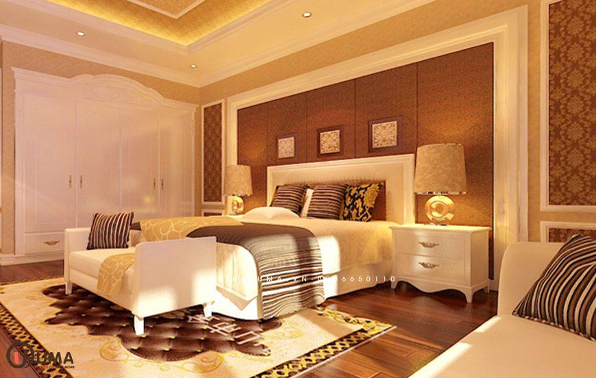 Mẫu 1 - Thiết kế phòng ngủ hợp mệnh cho người sinh năm 1978